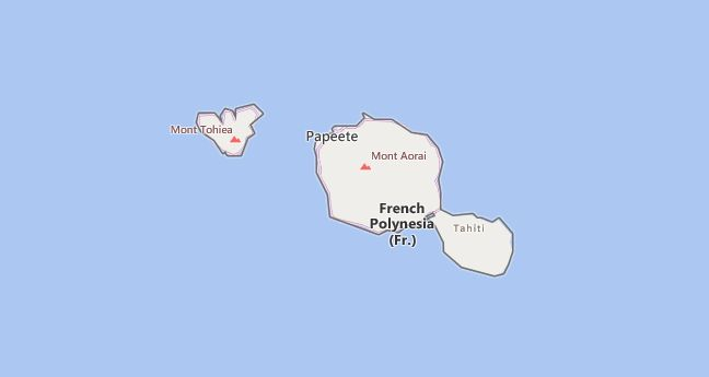 High School Codes in French Polynesia