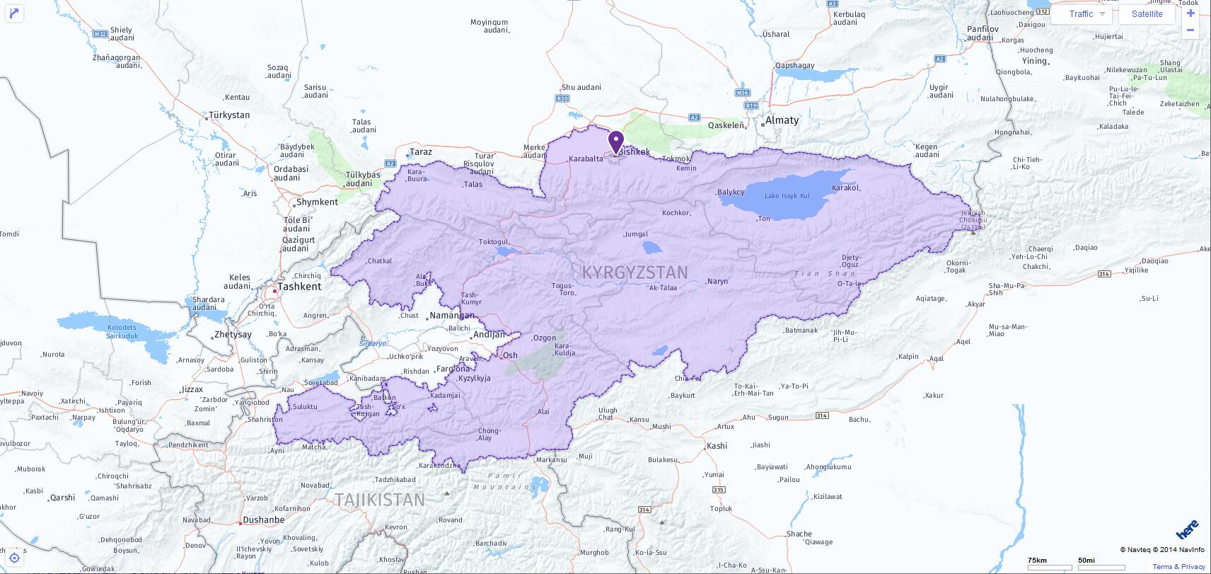 ACT Test Centers and Dates in Kyrgyzstan