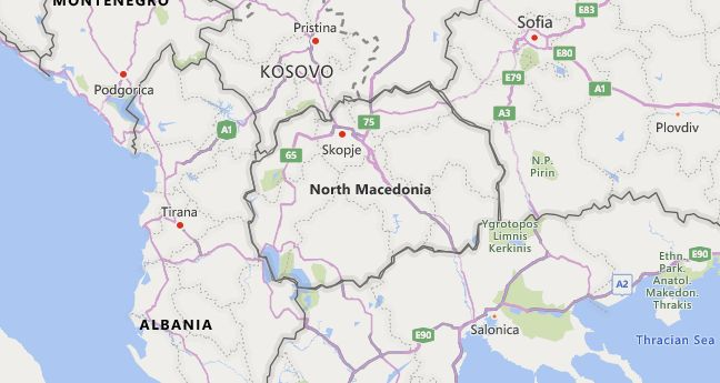 High School Codes in Macedonia