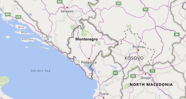 High School CEEB Codes in Montenegro