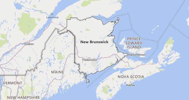 High School Codes in Canada, New Brunswick