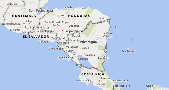 High School CEEB Codes in Nicaragua