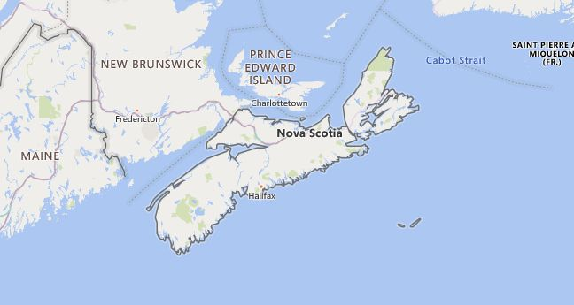 High School Codes in Canada, Nova Scotia
