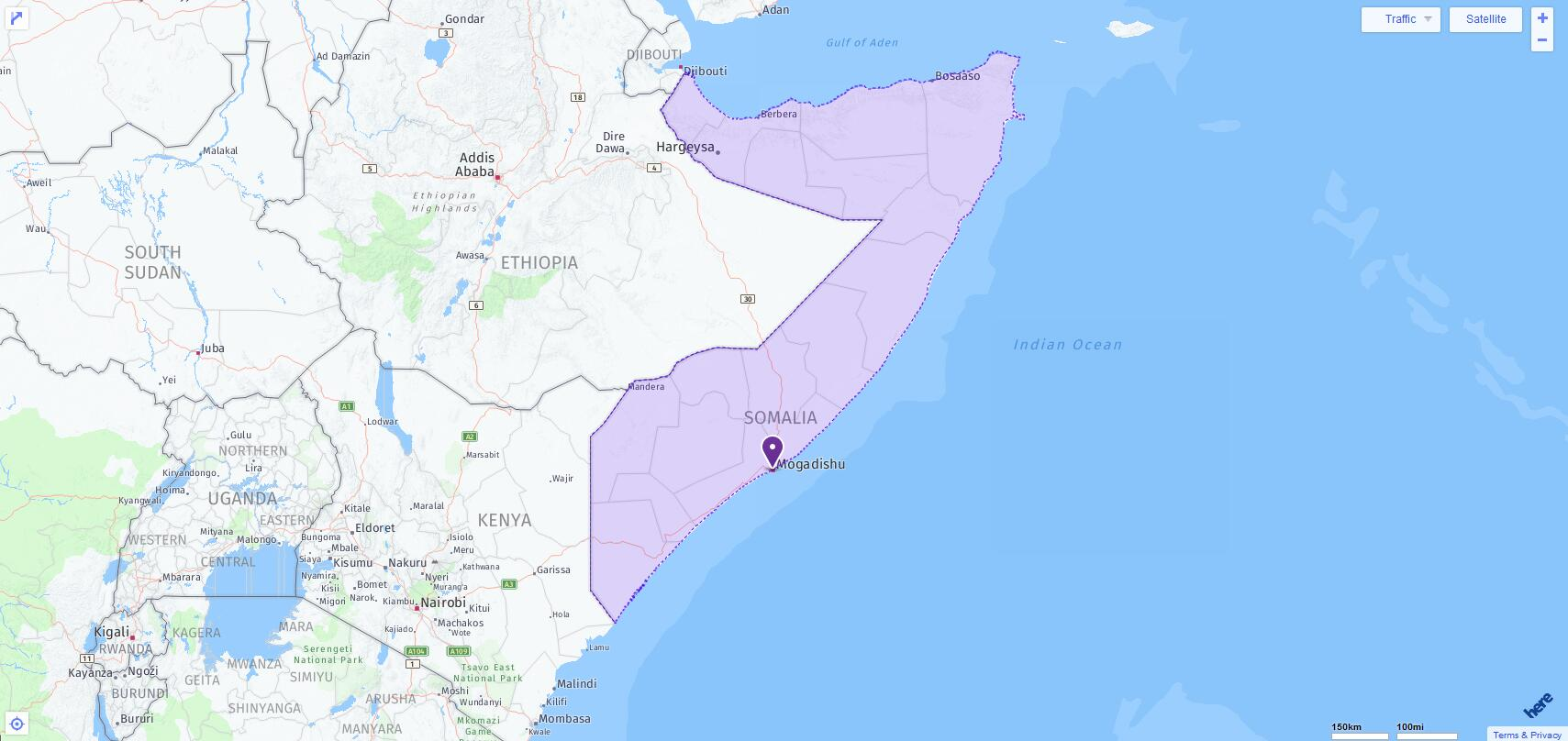 ACT Test Centers and Dates in Somalia