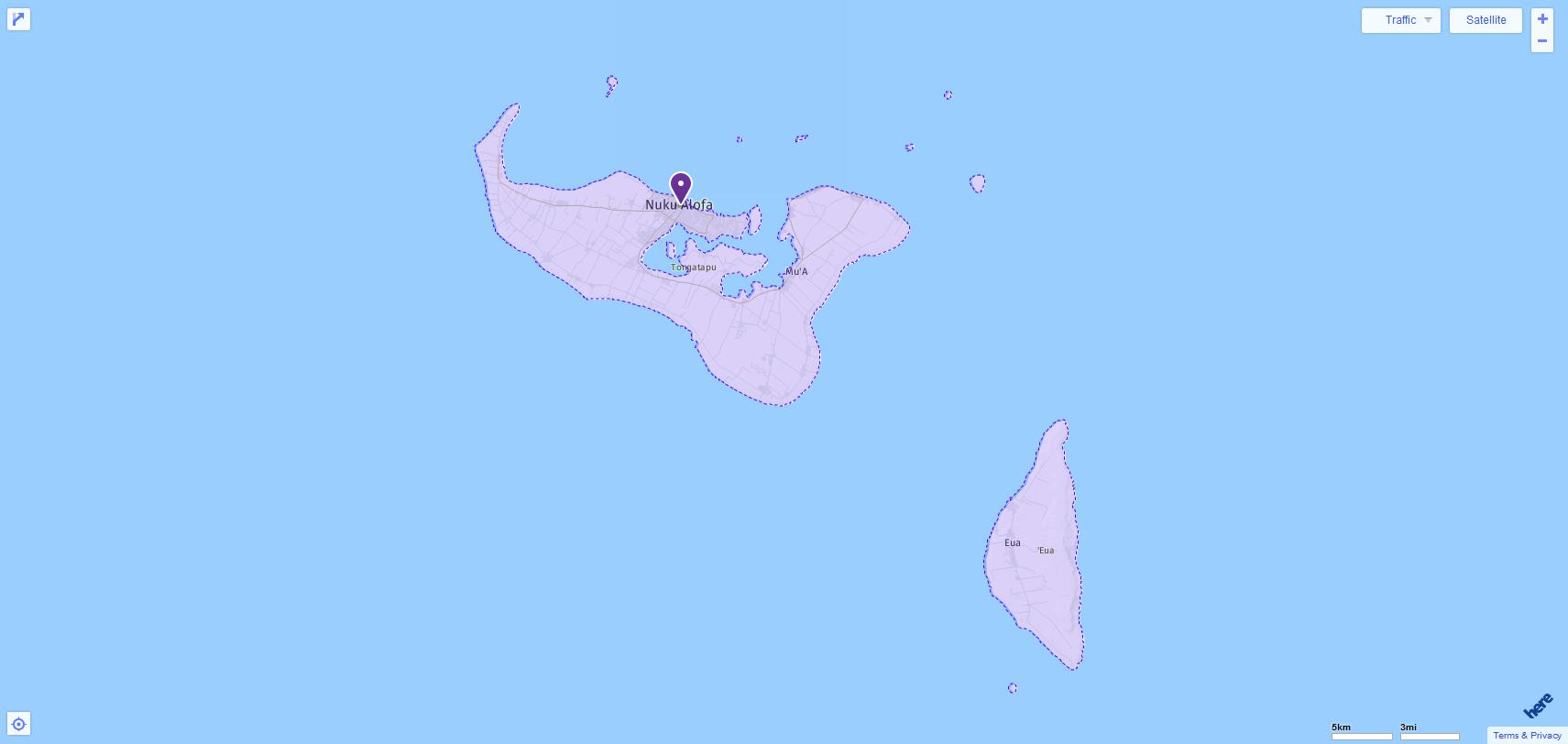 ACT Test Centers and Dates in Tonga