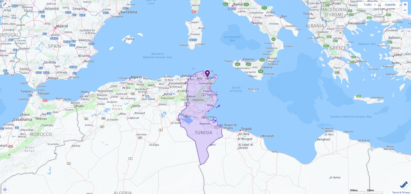 ACT Test Centers and Dates in Tunisia