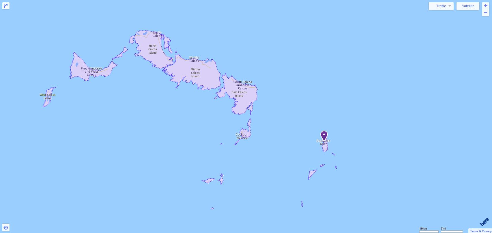 ACT Test Centers and Dates in Turks and Caicos Islands