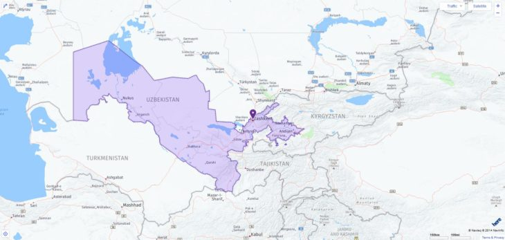 ACT Test Centers and Dates in Uzbekistan