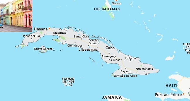 SAT Test Centers and Dates in Cuba