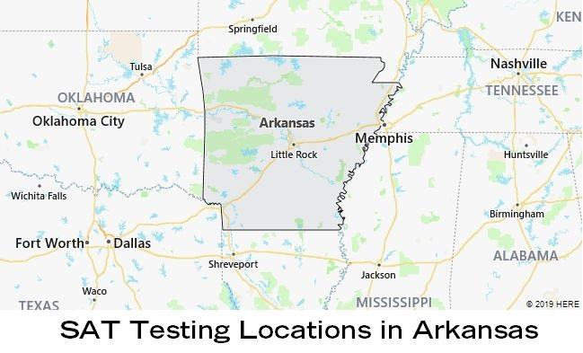 SAT Testing Locations in Arkansas