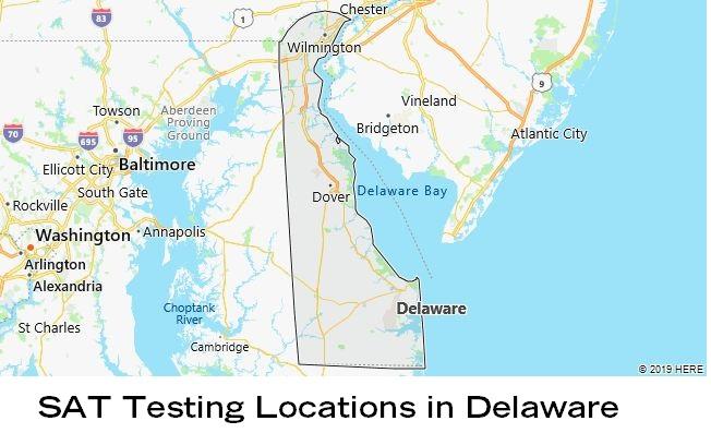 SAT Testing Locations in Delaware