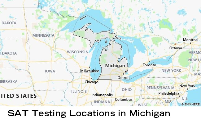 SAT Testing Locations in Michigan