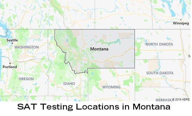 SAT Testing Locations in Montana