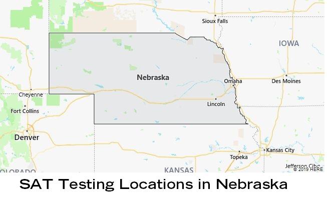 SAT Testing Locations in Nebraska