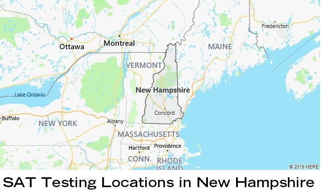 SAT Testing Locations in New Hampshire