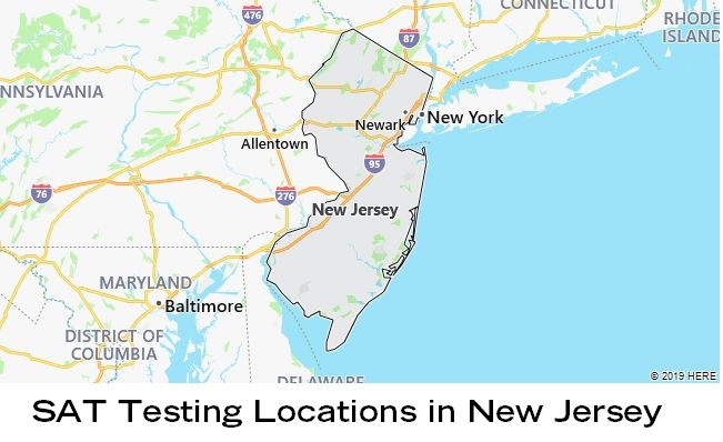SAT Testing Locations in New Jersey