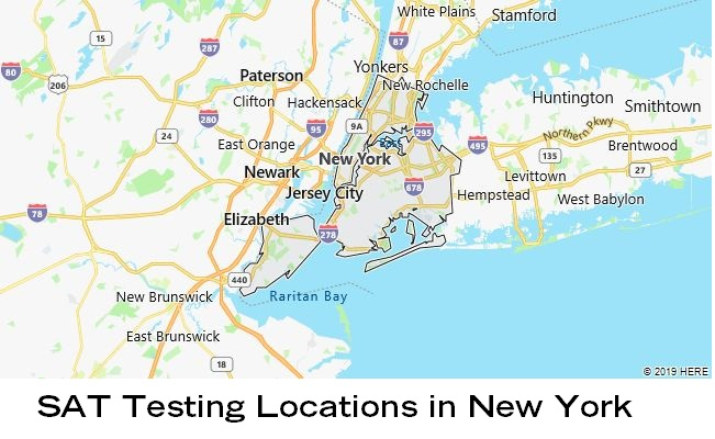 SAT Testing Locations in New York