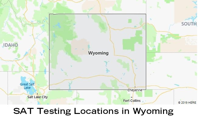 SAT Testing Locations in Wyoming