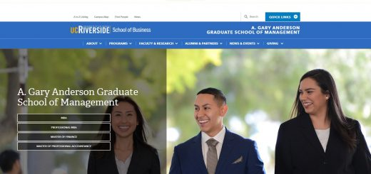 The A. Gary Anderson Graduate School of Management at University of California--Riverside