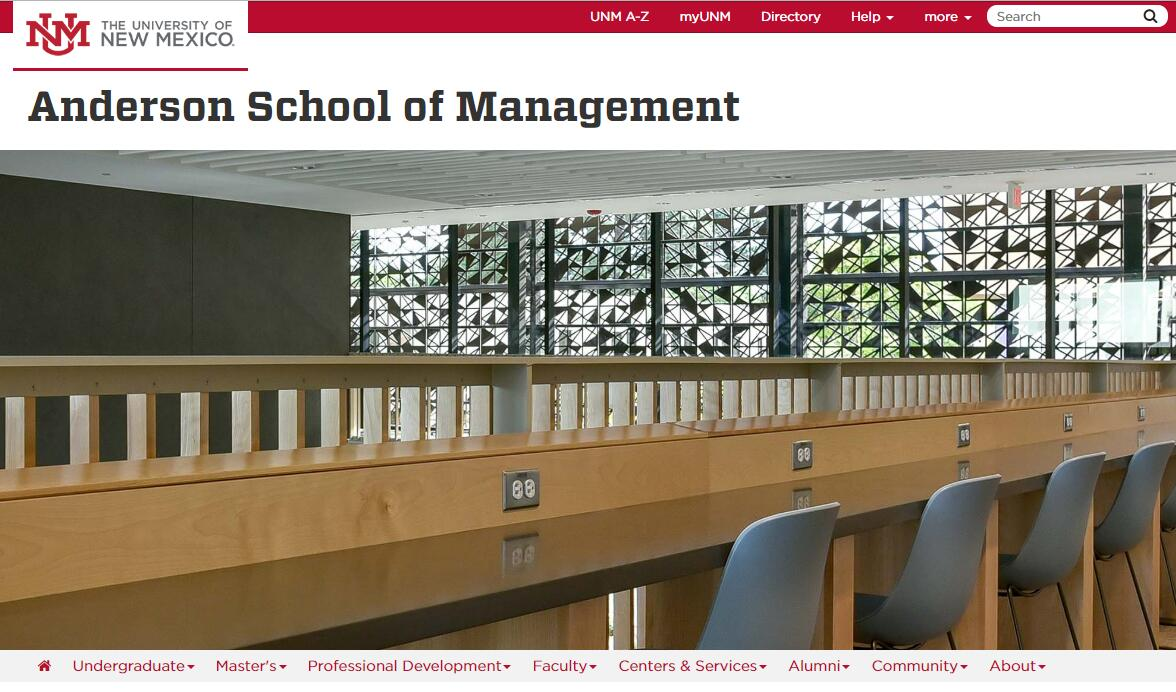 The Anderson School of Management at University of New Mexico