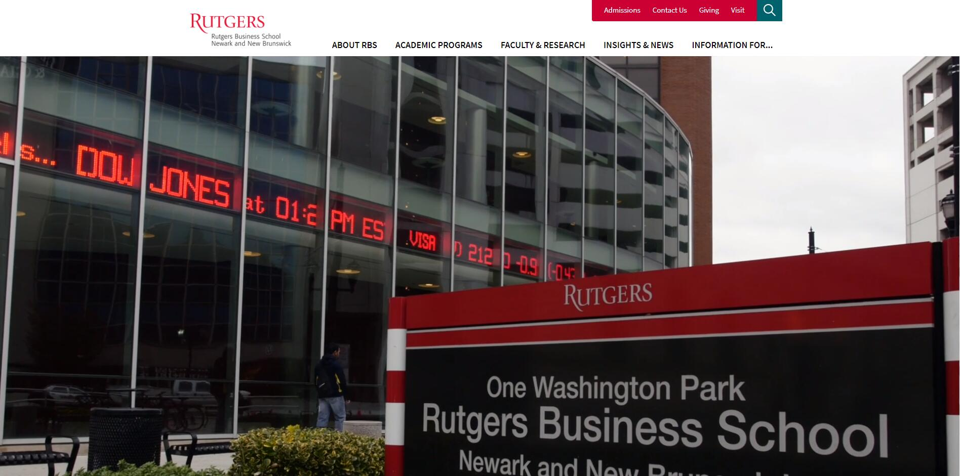 The Business School at Rutgers, the State University of New Jersey–Newark
