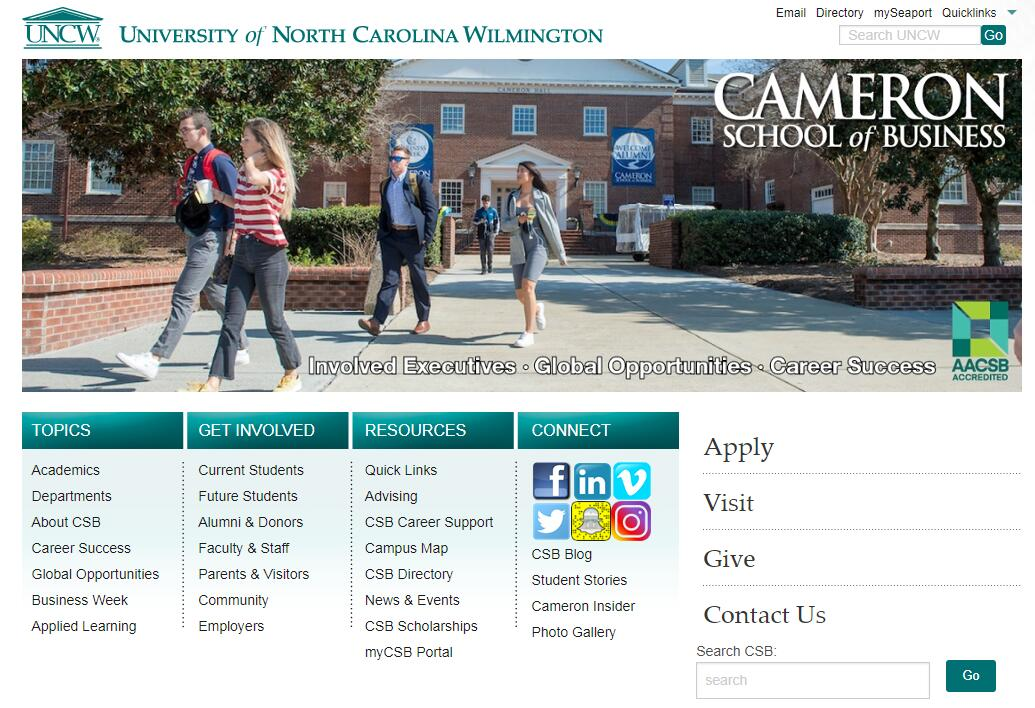 The Cameron School of Business at University of North Carolina–Wilmington