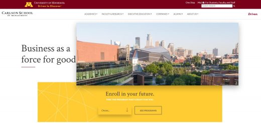 The Carlson School of Management at University of Minnesota--Twin Cities