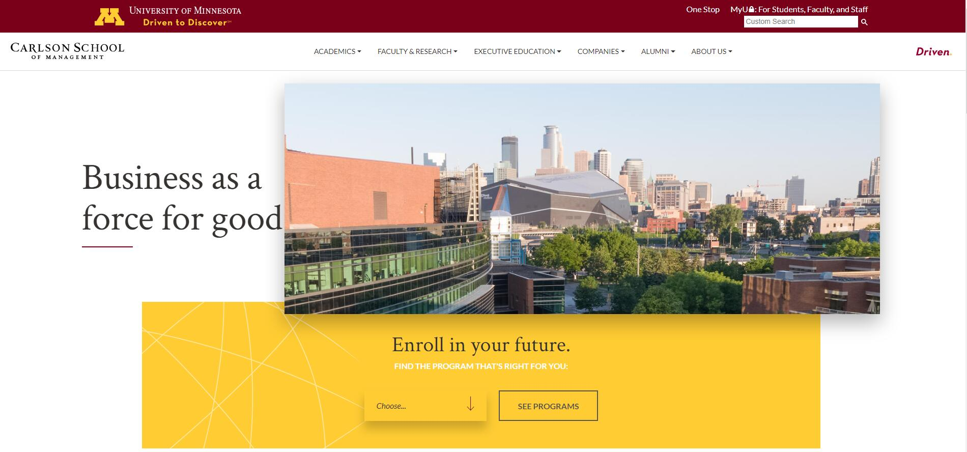 The Carlson School of Management at University of Minnesota–Twin Cities