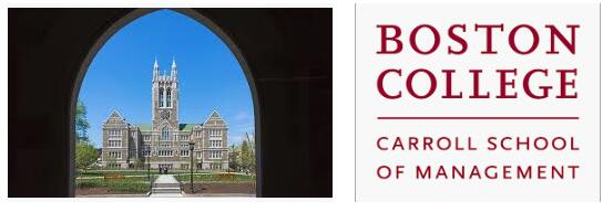 The Carroll School of Management at Boston College