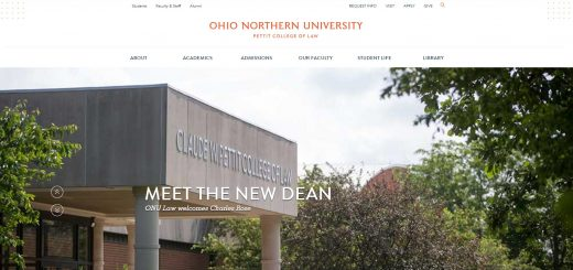 The Claude W. Pettit College of Law at Ohio Northern University