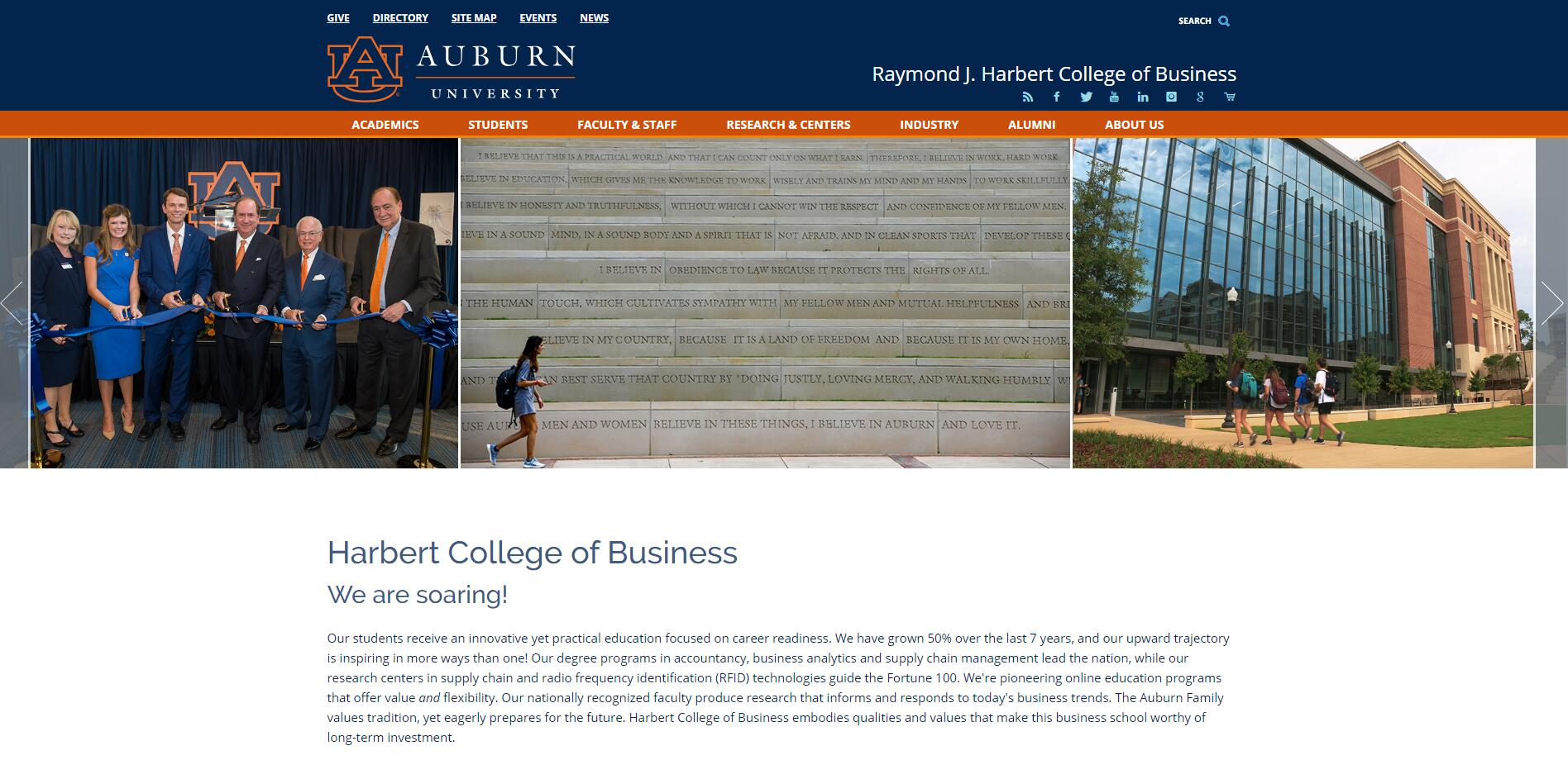 The College of Business at Auburn University