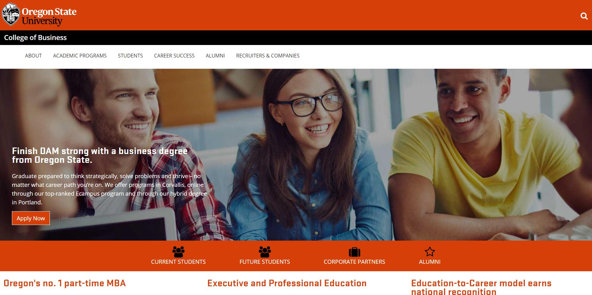 The College of Business at Oregon State University