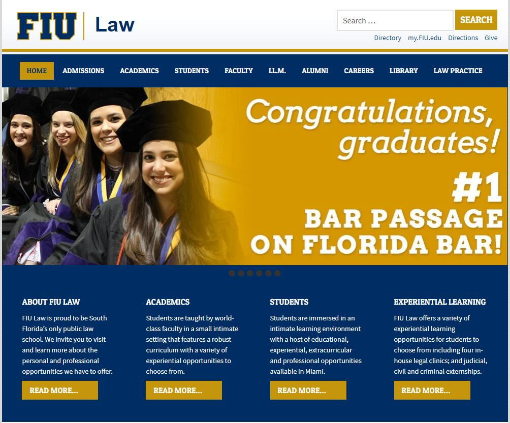 The College of Law at Florida International University
