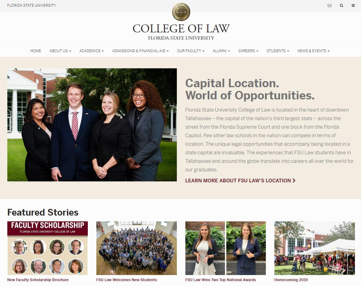 The College of Law at Florida State University