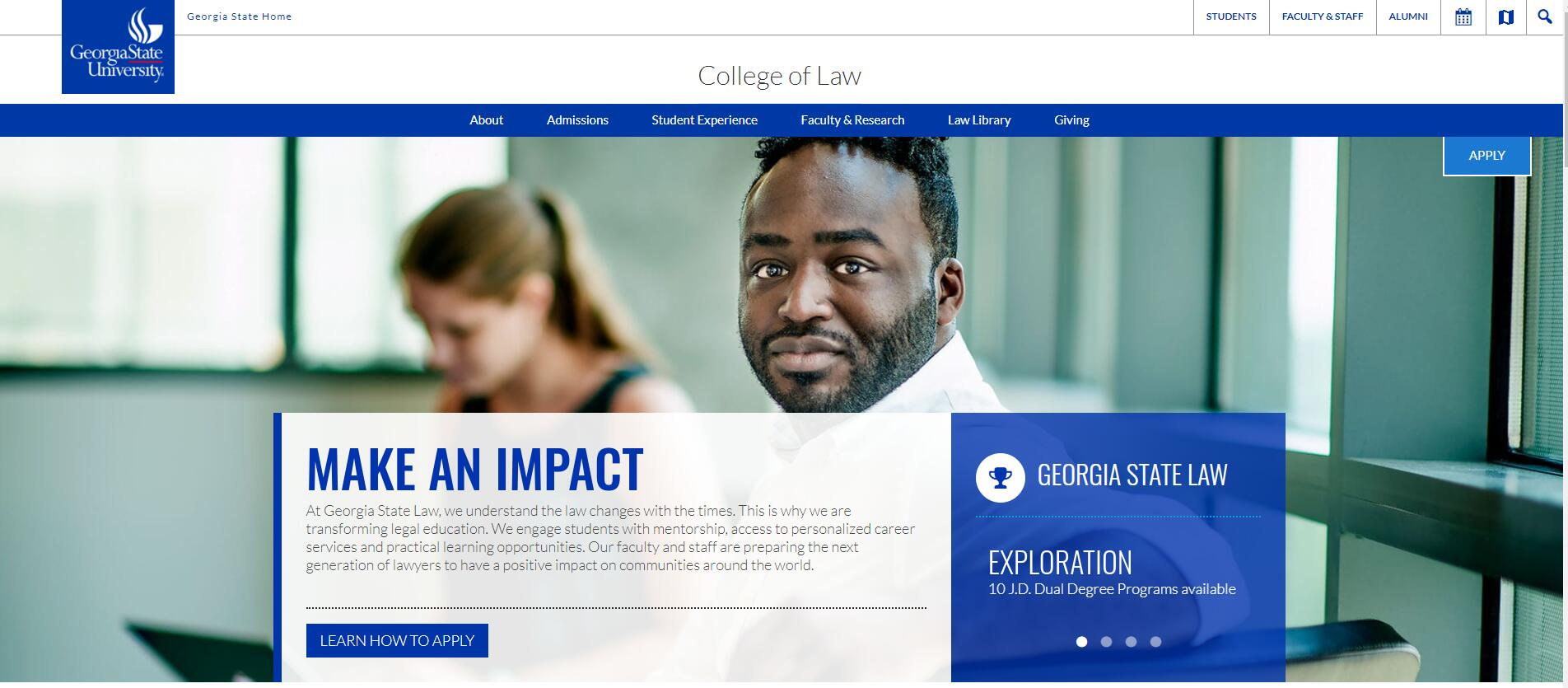 The College of Law at Georgia State University