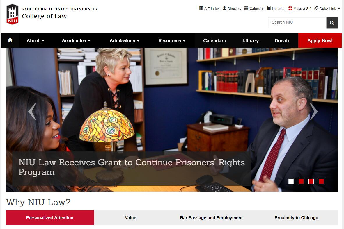 The College of Law at Northern Illinois University