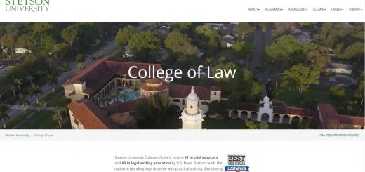 The College of Law at Stetson University