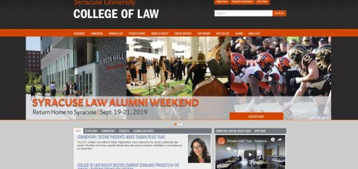 The College of Law at Syracuse University
