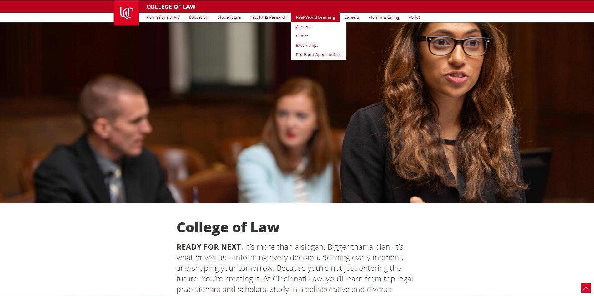 The College of Law at University of Cincinnati