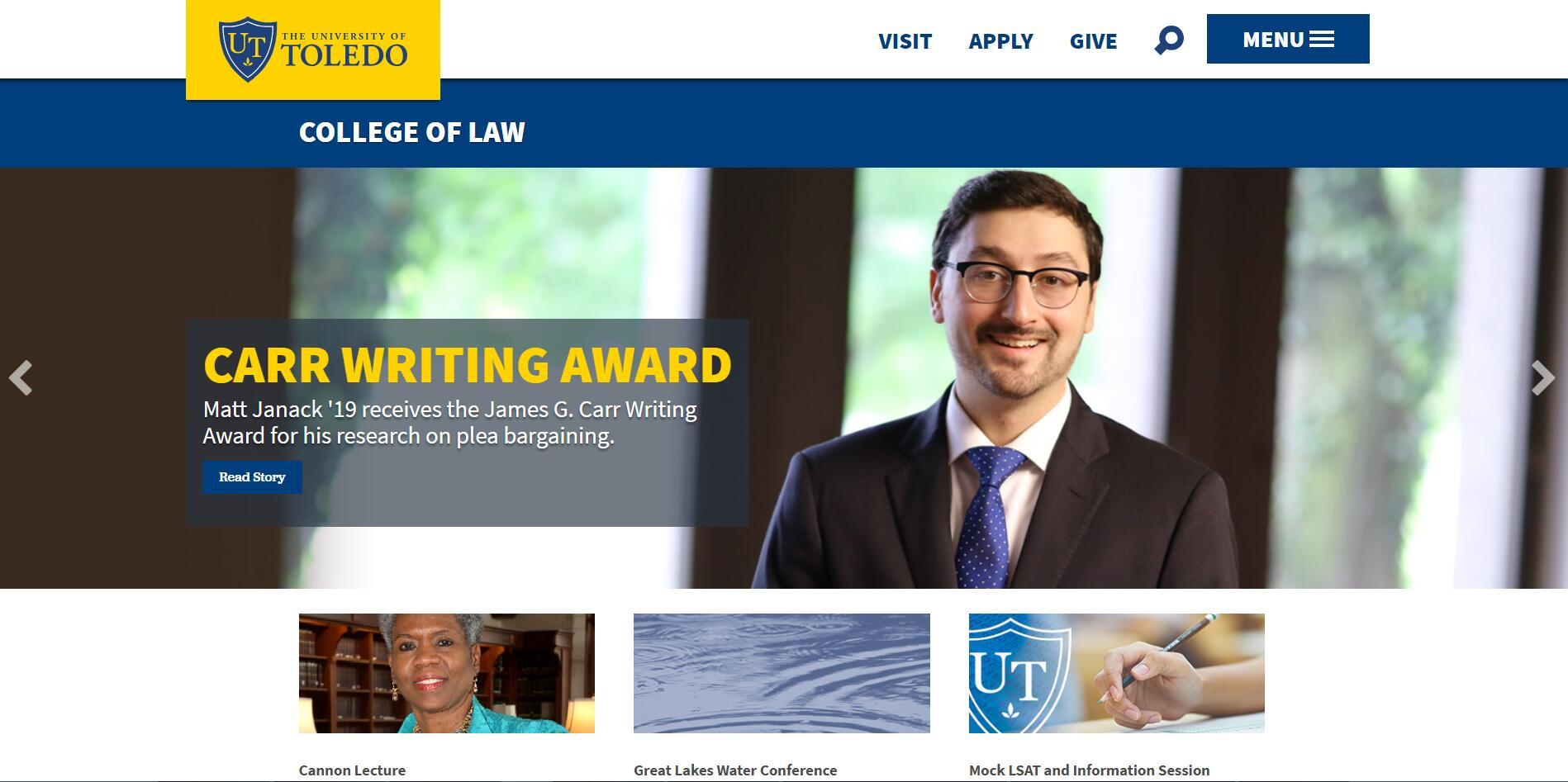 The College of Law at University of Toledo