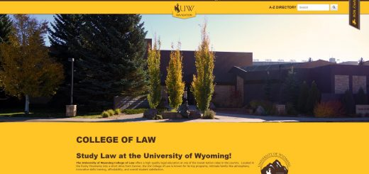 The College of Law at University of Wyoming