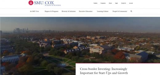 The Cox School of Business at Southern Methodist University