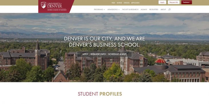 The Daniels College of Business at University of Denver