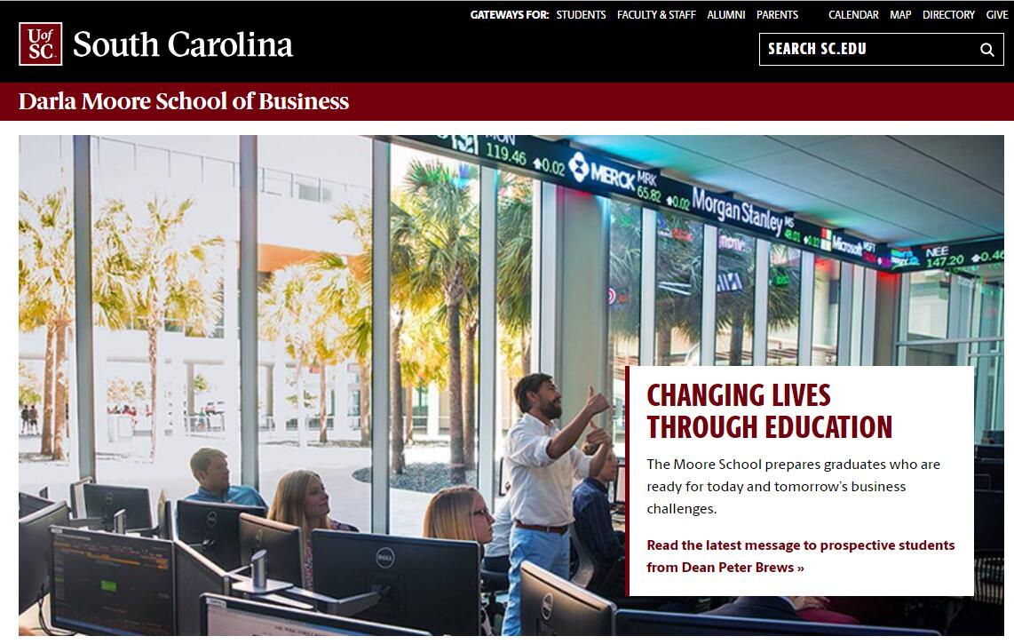The Darla Moore School of Business at University of South Carolina