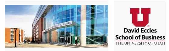 The David Eccles School of Business at University of Utah
