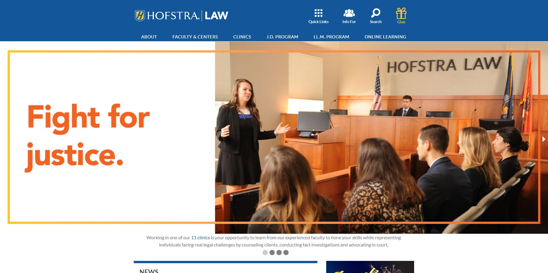 The Deane School of Law at Hofstra University