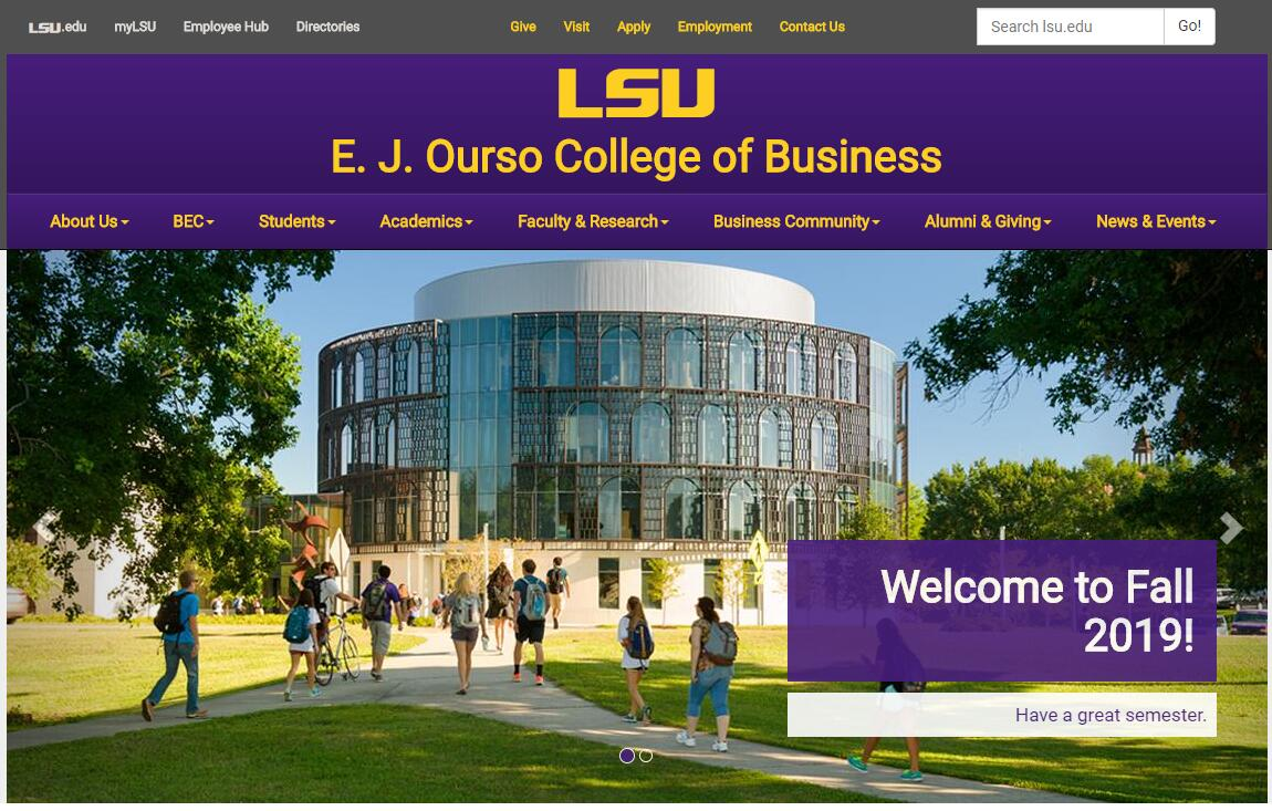 The E. J. Ourso College of Business at Louisiana State University–Baton Rouge