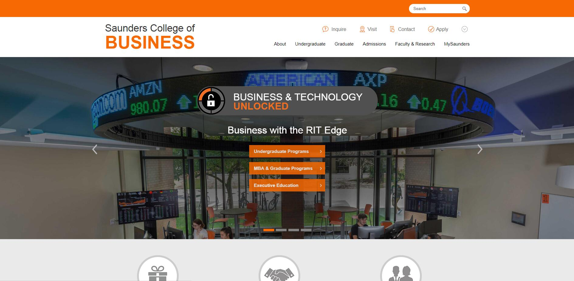 The E. Philip Saunders College of Business at Rochester Institute of Technology