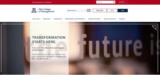 The Eller College of Management at University of Arizona