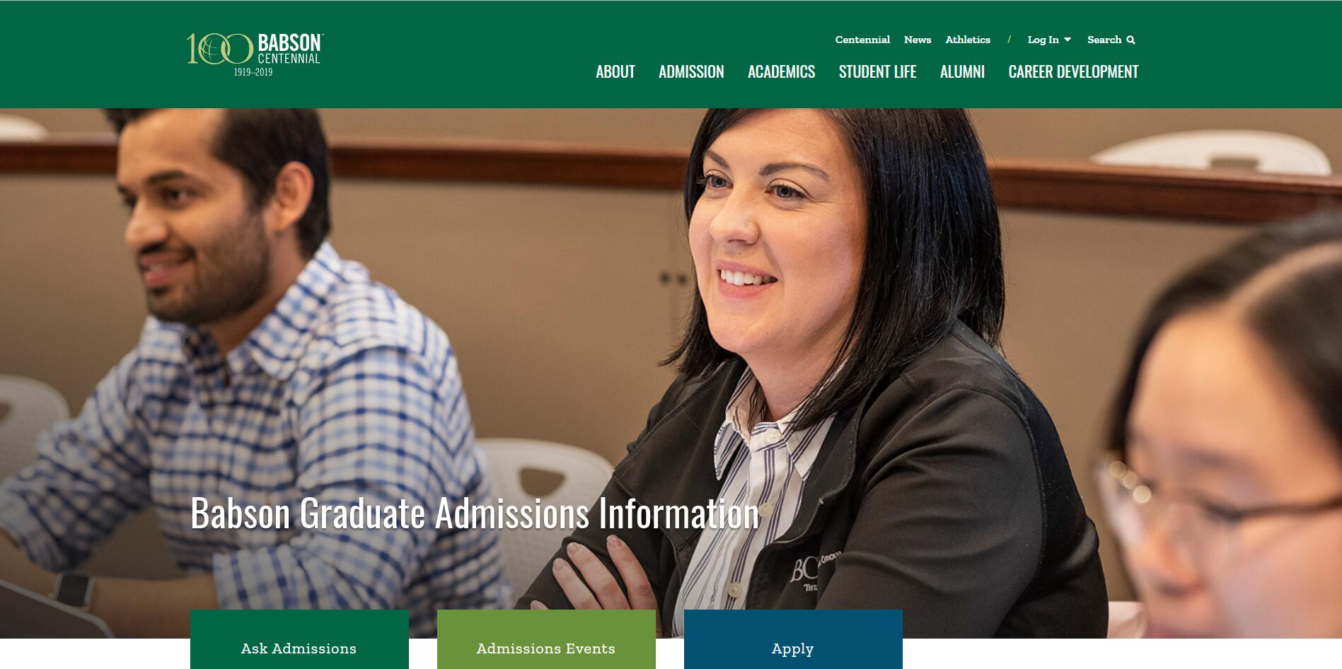 The F.W. Olin Graduate School of Business at Babson College